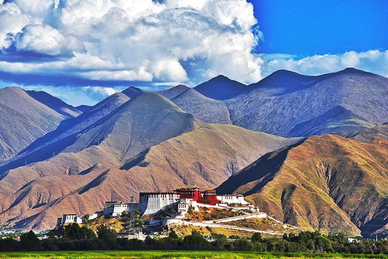 Destination au Tibet - Lhassa