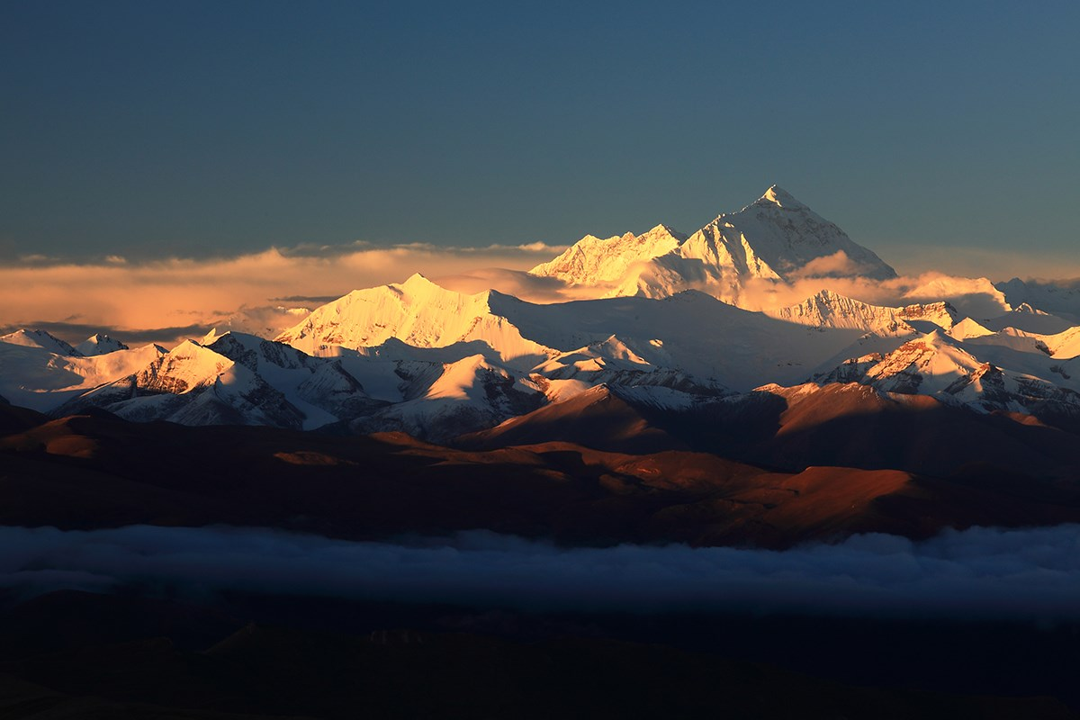 Everest and Himalaya