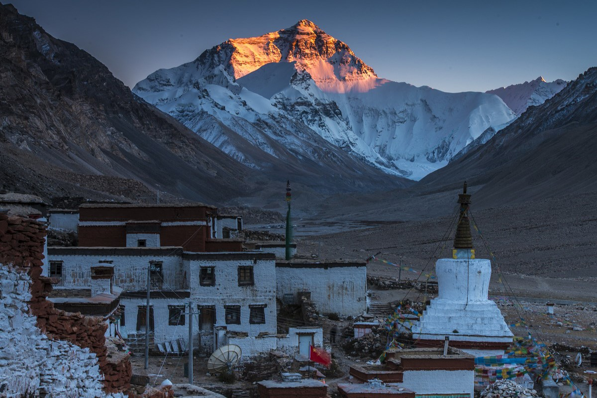 Rongbuk and Everest