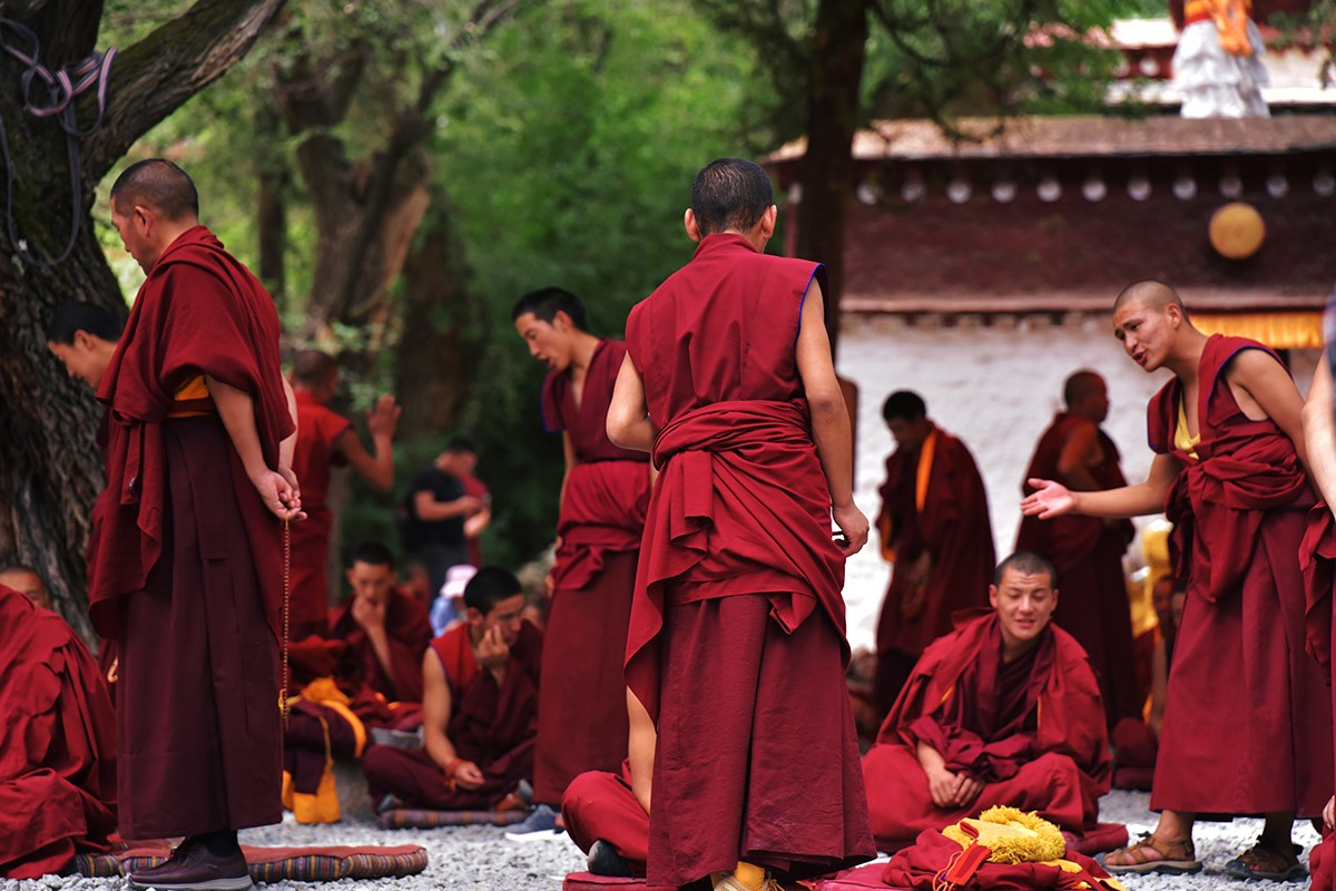 Debate in Sera Monastery | Photo par Liu Bin