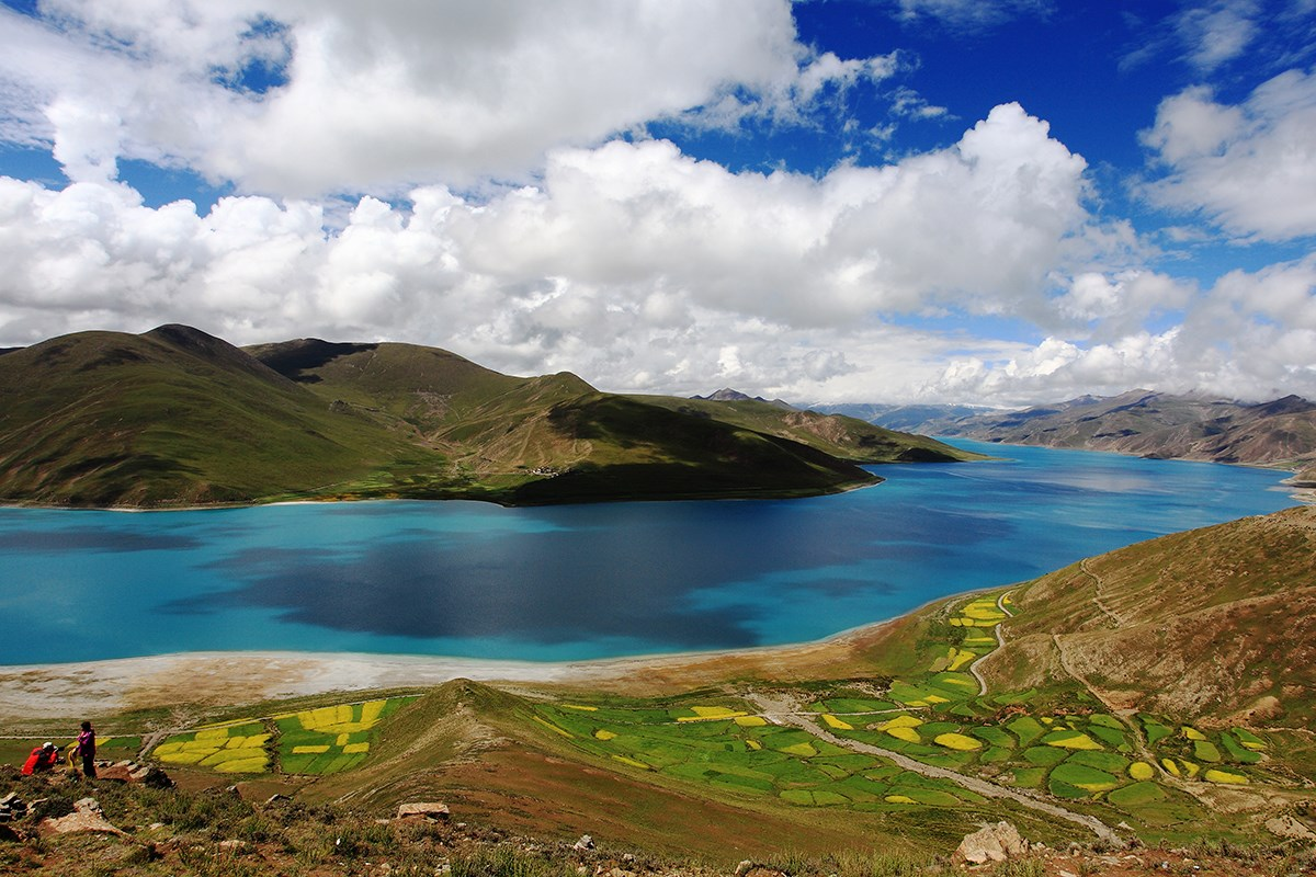 Yamdrok Lake | Photo par Mr. Zeng