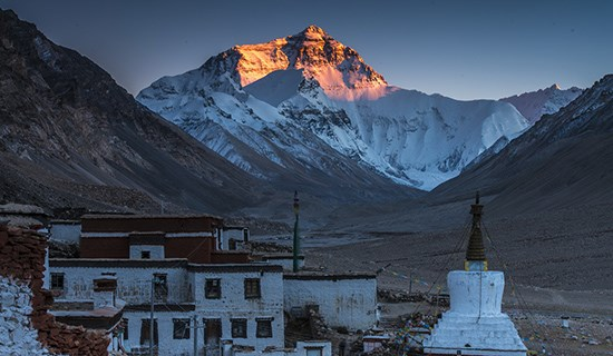 Tibet Adventure Tour to Everest