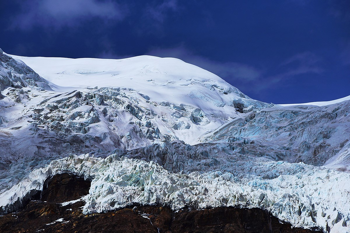 Karola Glacier | Photo par Liu Bin