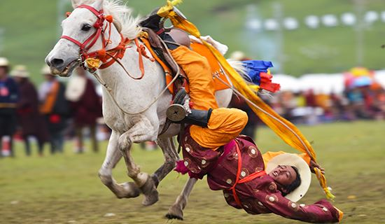 Experience Tagong Mask Dance Festival and Litang Horse Racing Festival 2020