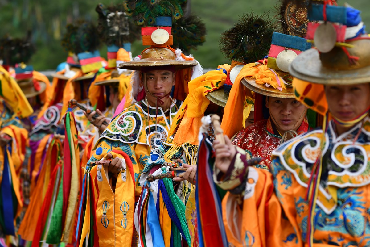 Mask Dance Festival at Katok Monastery | Photo par Liu Bin
