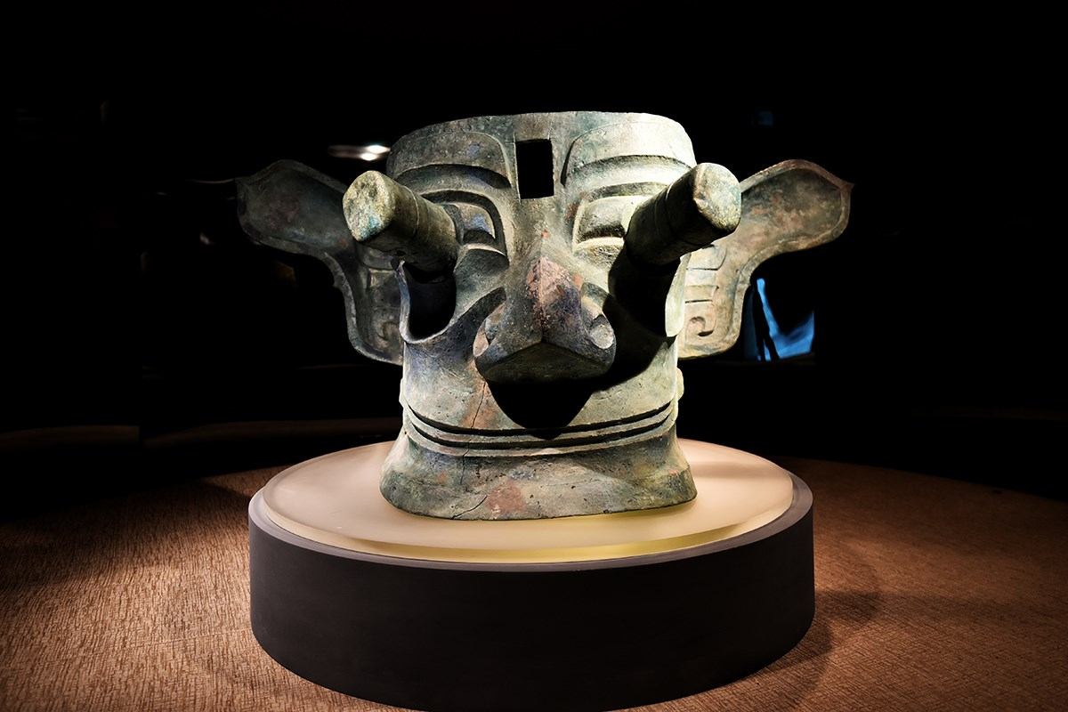 Sanxingdui Museum | Photo par Liu Bin